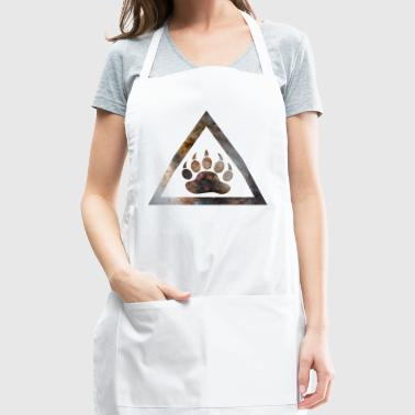 Galaxy Bear Triangle - Adjustable Apron
