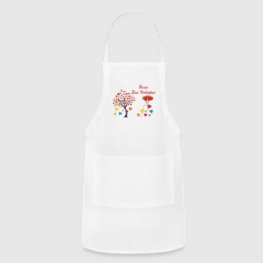 valentine's day hearts - Adjustable Apron