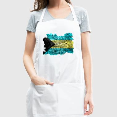 Bahamas Vintage Flag - Adjustable Apron