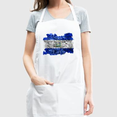 El Salvador Vintage Flag - Adjustable Apron