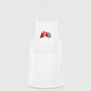group of cats - Adjustable Apron