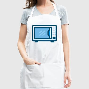 microwave mikrowelle kitchen kueche cooking - Adjustable Apron