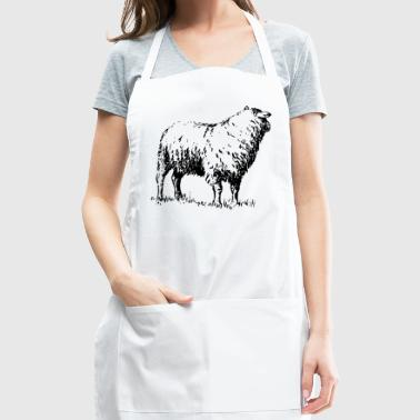 sheep - Adjustable Apron