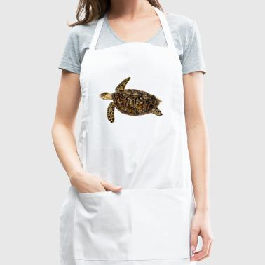 Hawksbill turtle - sea turtle - Adjustable Apron