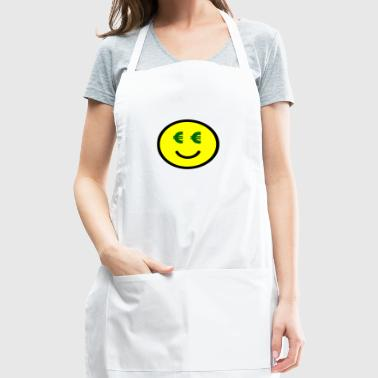 Smiley with Euro-Eyes Gift Idea - Adjustable Apron