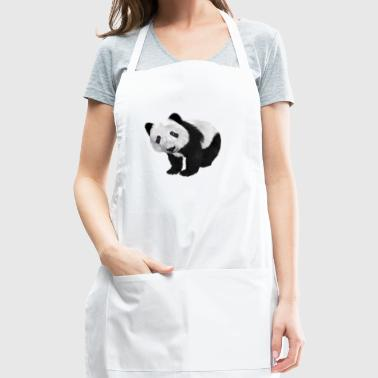 Funny Panda Shirt Gift Idea for men and women - Adjustable Apron