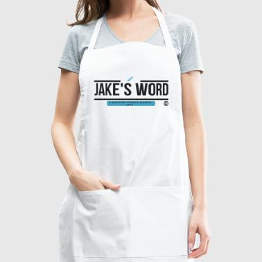 Jake's Word Logo - Adjustable Apron