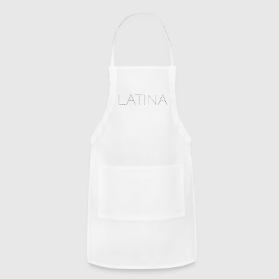 Latina Black Bling - Adjustable Apron