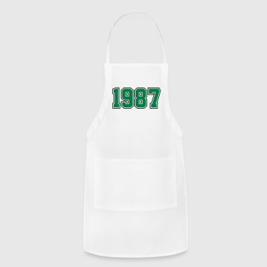 1987 | Year of Birth | Birth Year | Birthday - Adjustable Apron