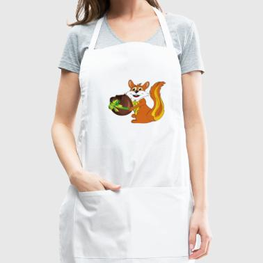 Easter squirrel - Adjustable Apron