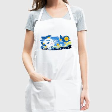 Dragon Ball Print Shirt High Quality - Adjustable Apron
