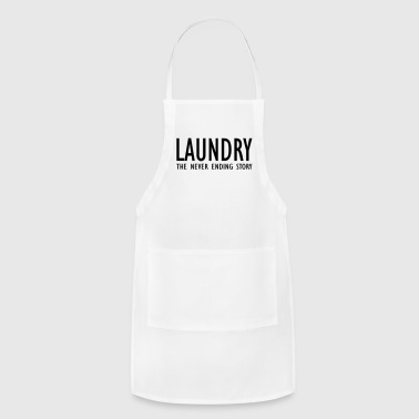 laundry the never ending story - Adjustable Apron