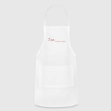 I AM - Fill in the blank with positivity - Adjustable Apron
