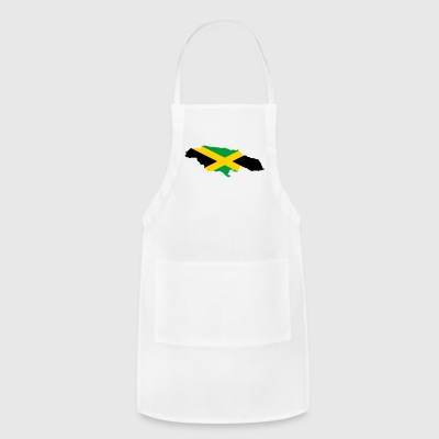Flag map of Jamaica - Adjustable Apron