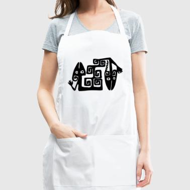 lizards - Adjustable Apron