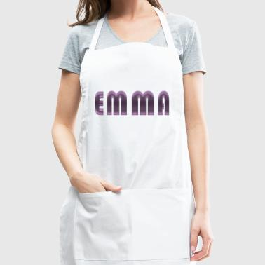 emma name - Adjustable Apron