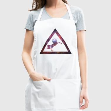 Galaxy Unicorn Triangle - Adjustable Apron
