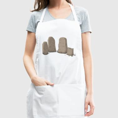 stone henge - Adjustable Apron
