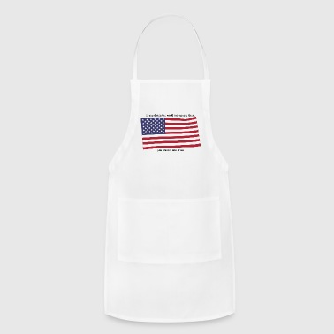 american flag - Adjustable Apron