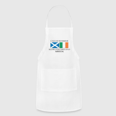 Scotland Ireland LDS Mission Called to Serve - Adjustable Apron