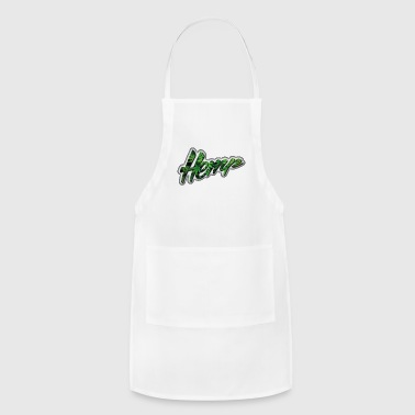 Hemp - Ganja - Marijuana - Adjustable Apron