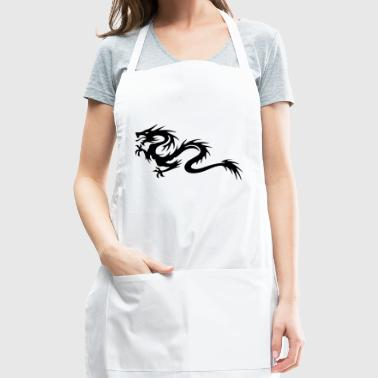 Tribal Dragon - Adjustable Apron