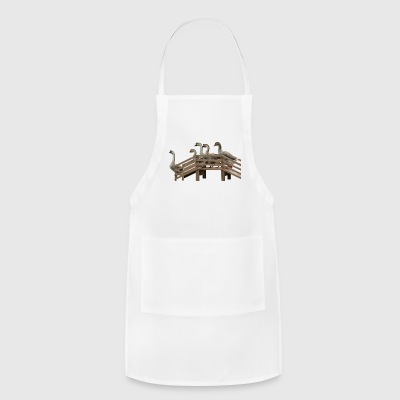 gans gaense geese goose animal tiere - Adjustable Apron