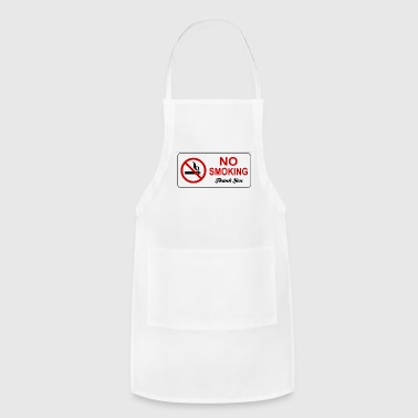 no smoking - Adjustable Apron