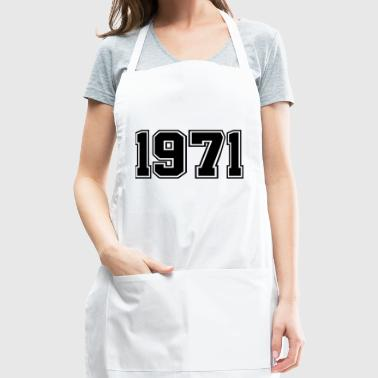 1971 | Birth Year | Birthday | Anniversary | Birth - Adjustable Apron