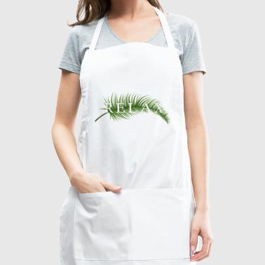 Tropical. Tropish. Relax. Beach - Adjustable Apron