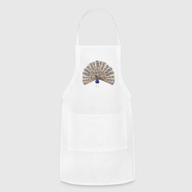 3D Peacock - Adjustable Apron