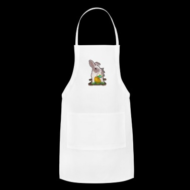 Easter bunny with Easter basket - Adjustable Apron