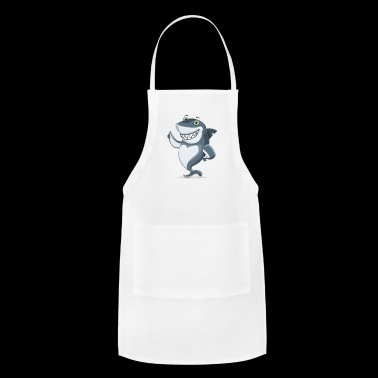 amusing shark - Adjustable Apron