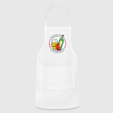 Drinks Well With Others Gift - Adjustable Apron