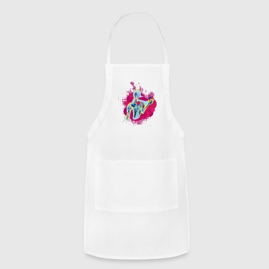 Music - Heart (Life) - Adjustable Apron