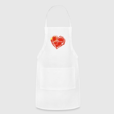 HOME ROOTS COUNTRY GIFT LOVE China - Adjustable Apron