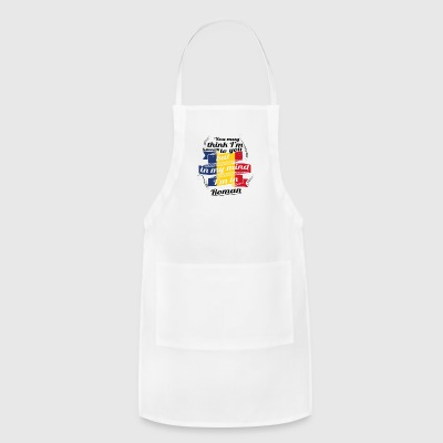 URLAUB Rumaenien ROOTS TRAVEL I M IN Romania Roman - Adjustable Apron