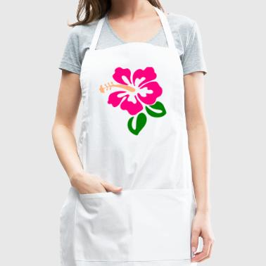 Hawaiian Flower - Adjustable Apron