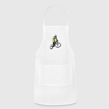 Comic Downhiller - Adjustable Apron