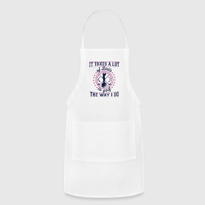Golfer Golf Coach Cool Club Gift Funny quote gift - Adjustable Apron