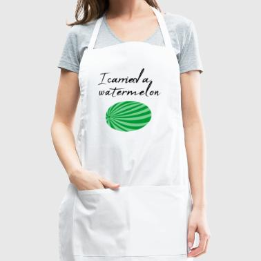 I carried a Watermelon / Gift Idea - Adjustable Apron