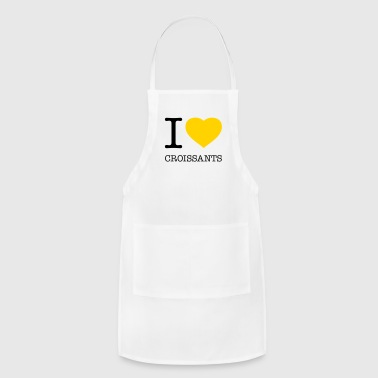 I LOVE CROISSANTS - Adjustable Apron