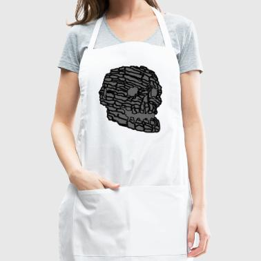 Grey Skull - Adjustable Apron
