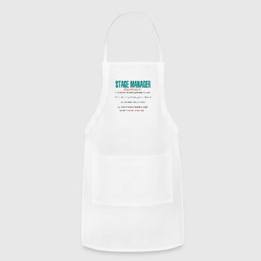 Stage Manager Definition - Adjustable Apron