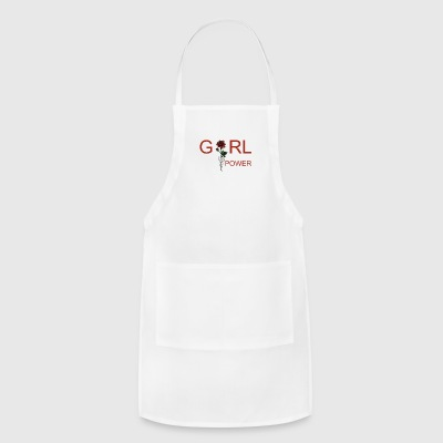 OFFICIAL Girl Power T-Shirt- Womens - Adjustable Apron