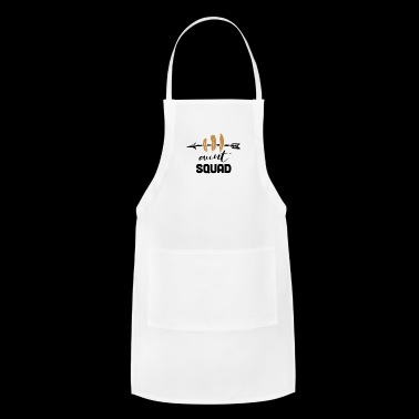 Funny aunt sqaud Gift - Adjustable Apron