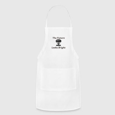 The Future Looks Bright - Atomic Bomb Graphic Tee - Adjustable Apron