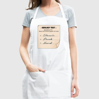 Geology Three Types Of Rock Gift - Adjustable Apron
