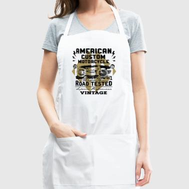 American Custom Motorcycle Vintage - Adjustable Apron