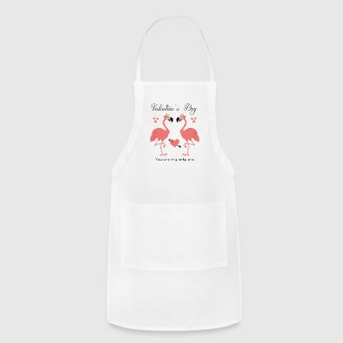 Valentine`s Day Funny T-Shirt - Adjustable Apron